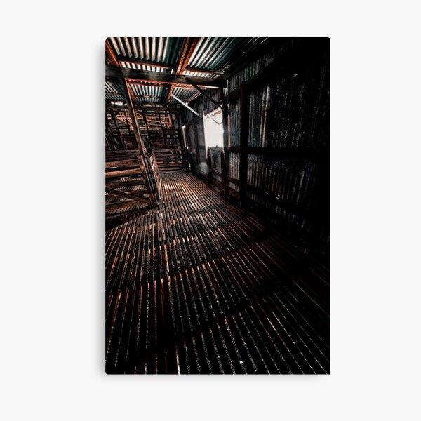 Shearing shed Canvas Print