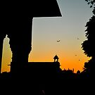 Red fort in evening ,NEW DELHI INDIA by amar singh