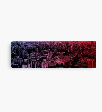 infinite metropolis 006 Canvas Print