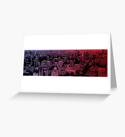 infinite metropolis 006 Greeting Card
