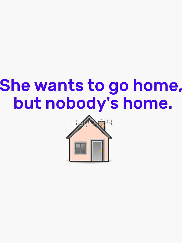 She Wants To Go Home - Avril Design by Bay0799