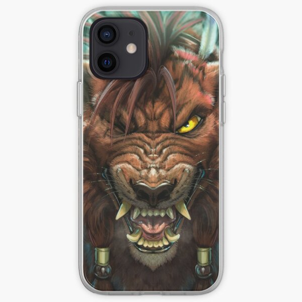 Red XIII iPhone Soft Case