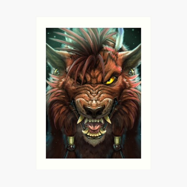 Red XIII Art Print