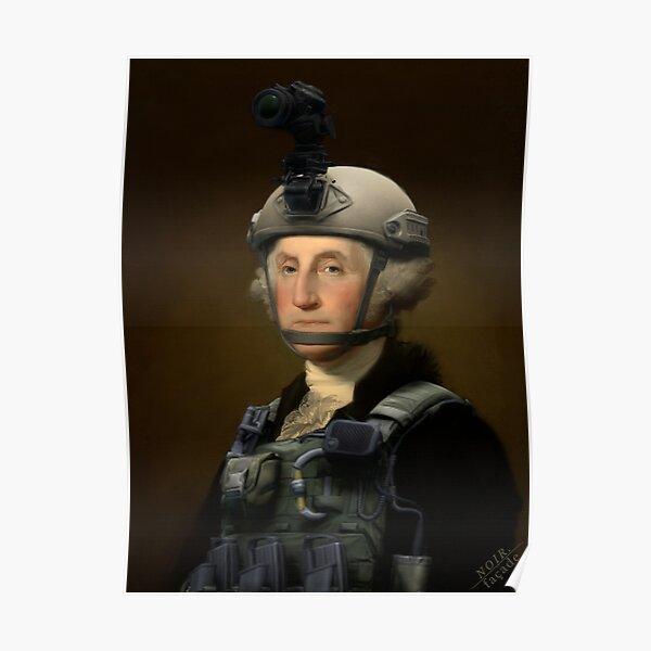 Noir Facade - Operator President George Washington  Poster