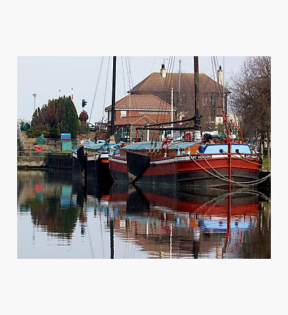Keel and Sloop Photographic Print