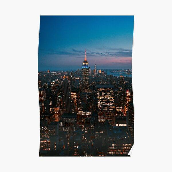 NYC la nuit Poster