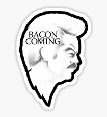 Bacon is Coming Sticker