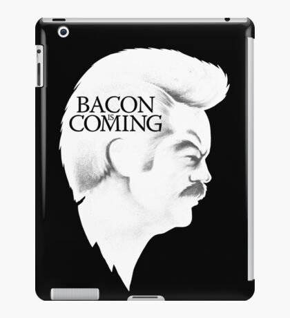 Bacon is Coming iPad Case/Skin