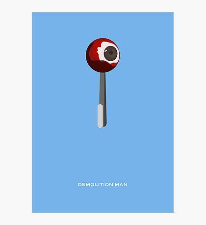 Demolition Man - Minimal Poster Photographic Print