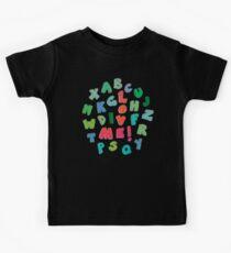 Love Me! alphabet tee Kids Clothes