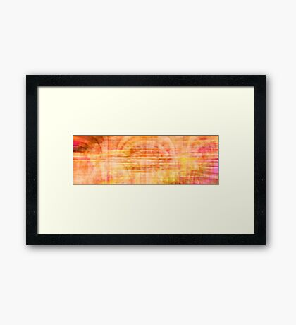 Dancing. Flowing. Framed Print