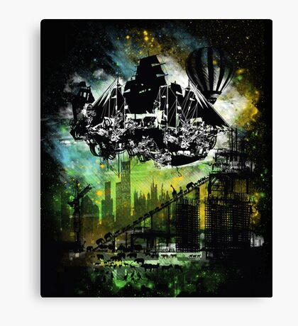 "Noah""s ark 2012 Canvas Print"