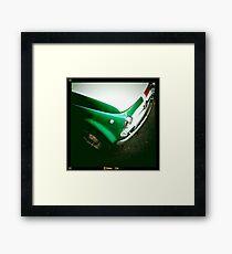 Vintage Italian Car Framed Print