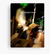 LONDON NIGHT 1 THE MONEY SHOT H.I.V Charity Gig* In Camden Lock London uk Canvas Print