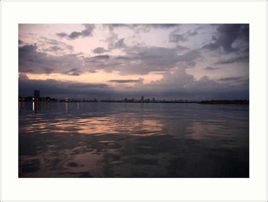 Milwaukee Horizon Cityscape  by Thomas Murphy