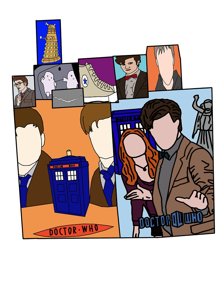 Doctor who collage  by Amy101