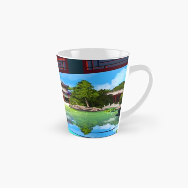 Secret Garden Pool Tall Mug