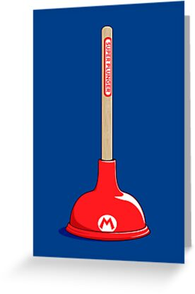 Super Plunger by Ian Wilding