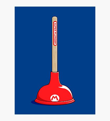 Super Plunger Photographic Print