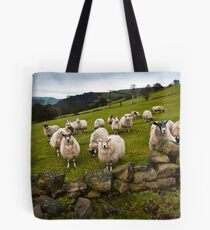 Sheep will eat your lunch, West Yorkshire Tote Bag