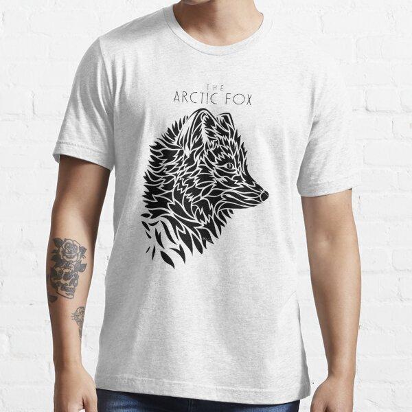 The Arctic Fox - black Essential T-Shirt