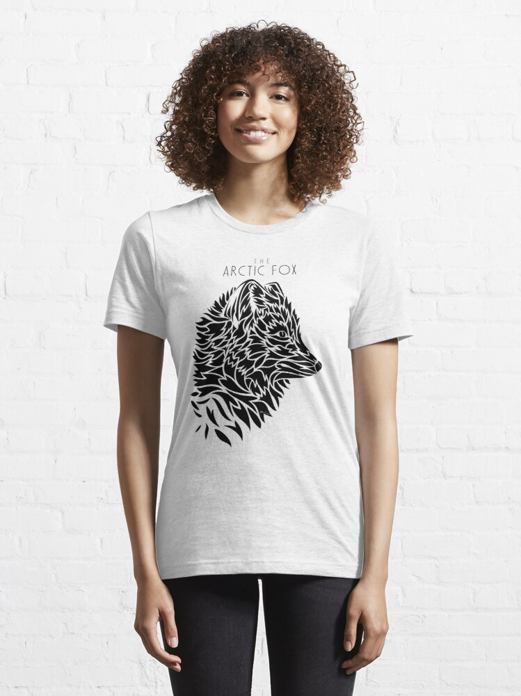 Alternate view of The Arctic Fox - black Essential T-Shirt