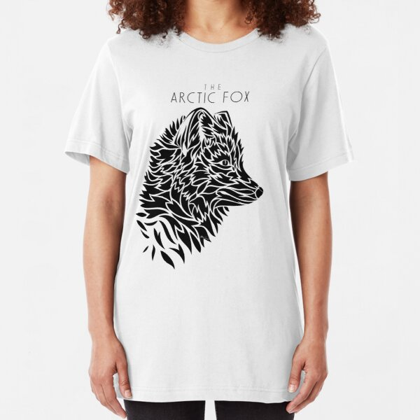 The Arctic Fox - black Slim Fit T-Shirt