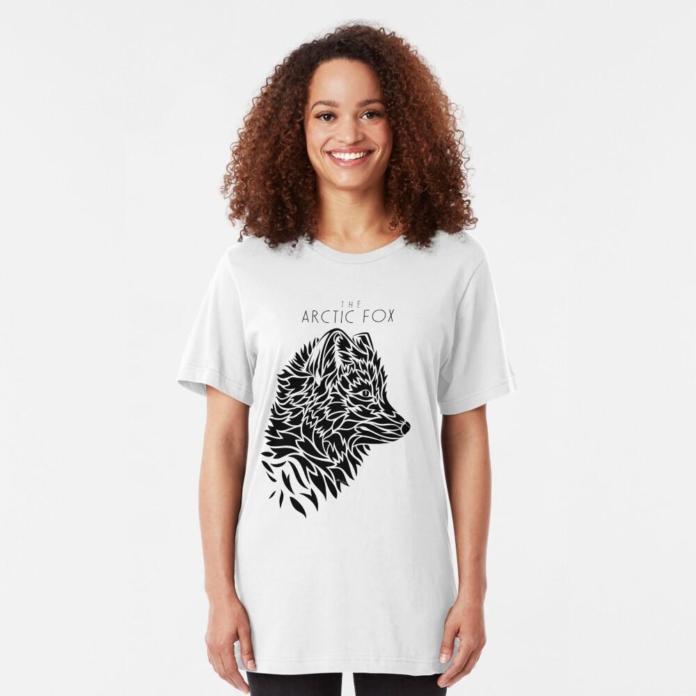 The Arctic Fox - black Slim Fit T-Shirt
