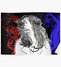 The Smokey Scarlet Blues Poster