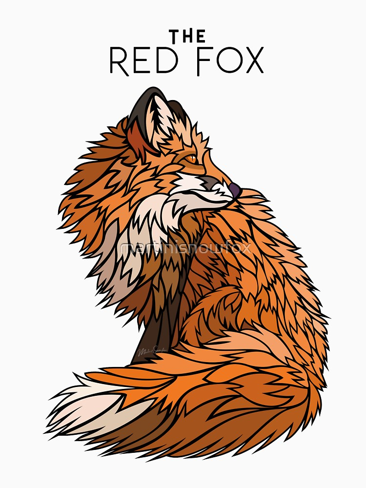 THE RED FOX by martinisnowfox