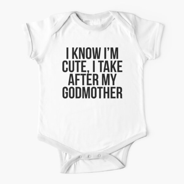 Baby Romper My Godfather in California Loves Me