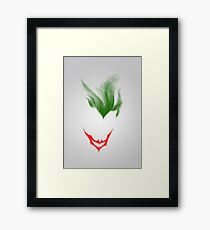 The Dark Joke Framed Print