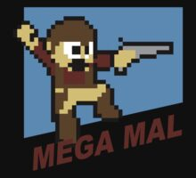 (MegaMan Firefly) Mega Mal Reynolds Shirt 8-bit