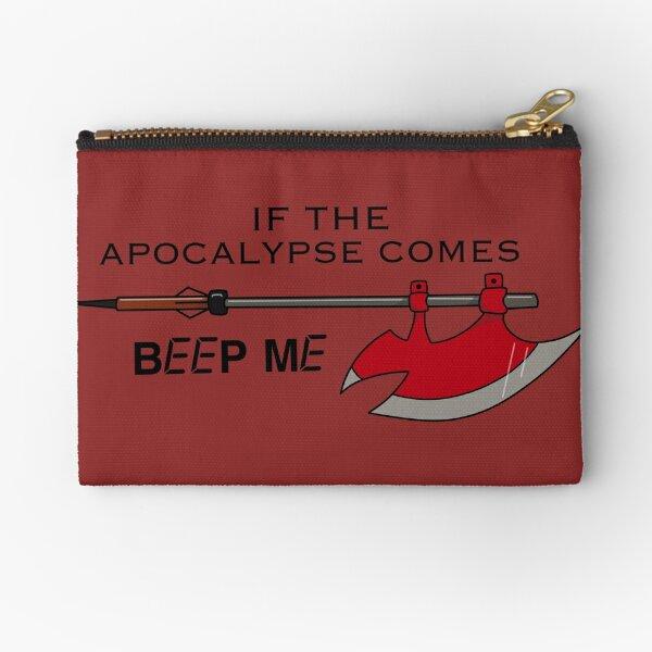 Beep Me Zipper Pouch