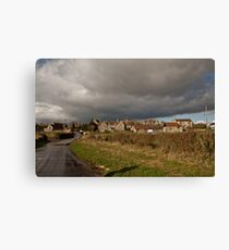 Storm Clouds Come Rolling In.. Canvas Print