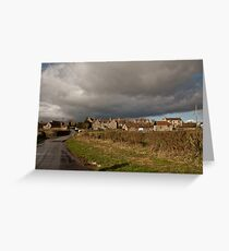 Storm Clouds Come Rolling In.. Greeting Card