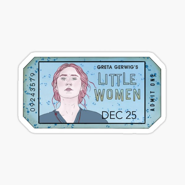 Saoirse Ronan Jo March  little women  Sticker