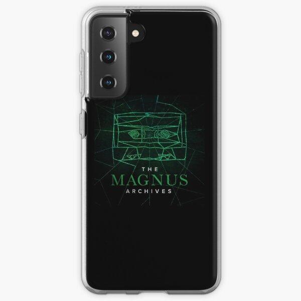 The Magnus Archives Logo (Season 5) (Square Block Logo) Samsung Galaxy Soft Case