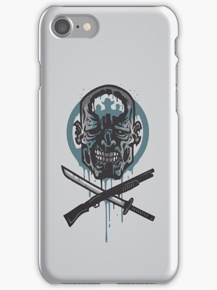 Dead Men Walking - IPHONE CASE by WinterArtwork