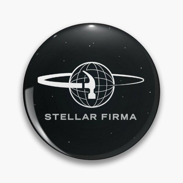 Stellar Firma Podcast Logo Pin