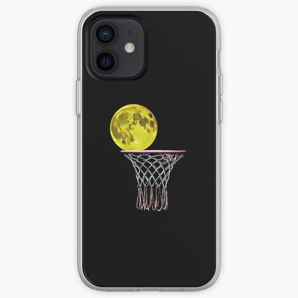 Basketball Moon iPhone Soft Case