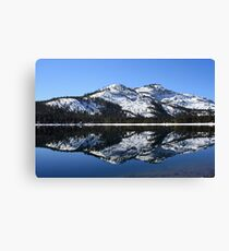 Donner Lake Reflection Canvas Print