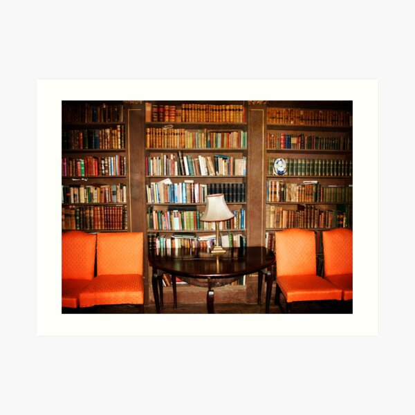 Have a seat and Read a book Art Print