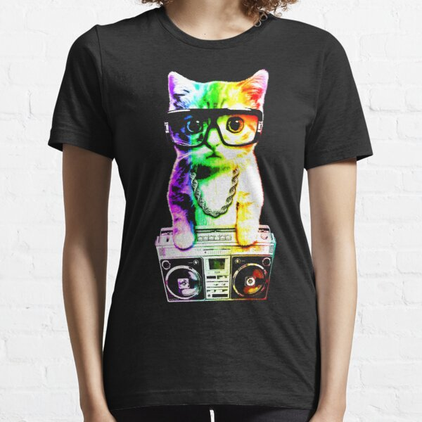 That Boombox Cat Essential T-Shirt
