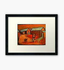 The Shopping trolley Framed Print
