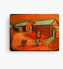 The Shopping trolley Canvas Print