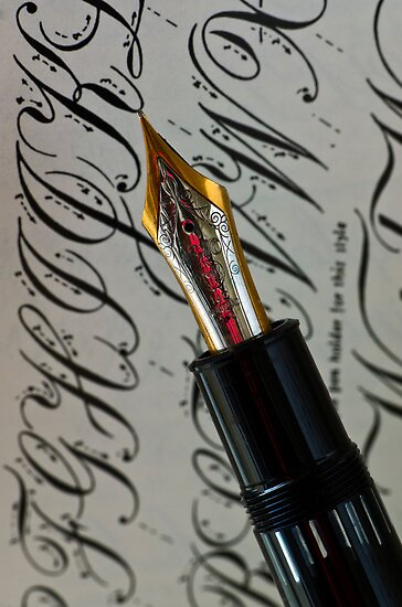 Calligraphy 101 Posters By Photokismet Redbubble