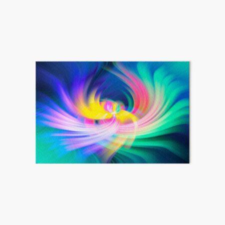 Colour Cocaine Phoenix Wings Twirl Art Board Print