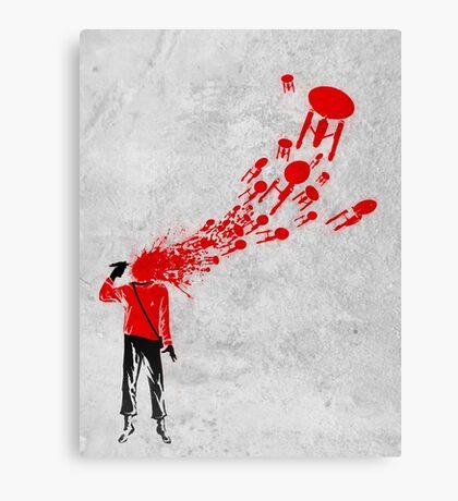 Trekkies in the Attic (spray version) Canvas Print