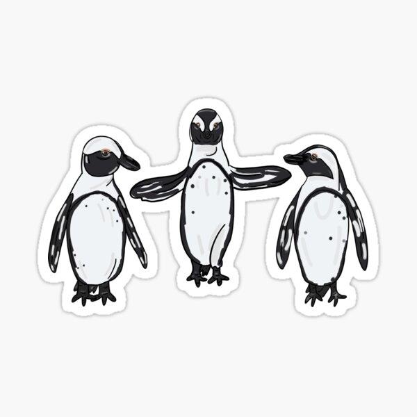 Jolly Holiday - Penguins Sticker